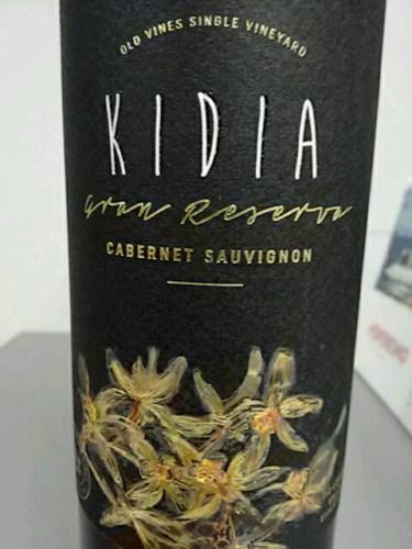 Kết quả hình ảnh cho kidia gran reserva cabernet sauvignon