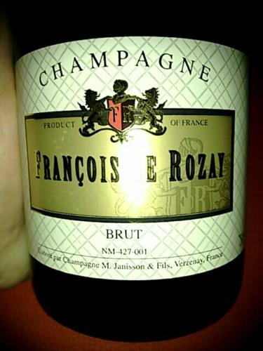 Janisson fils fran ois de rozay chamapgne brut nv wine for What is rozay drink