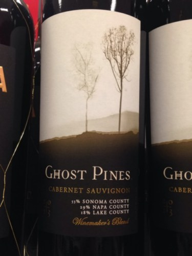 Ghost Pines 'Winemaker's Blend' Cabernet Sauvignon, Napa ...