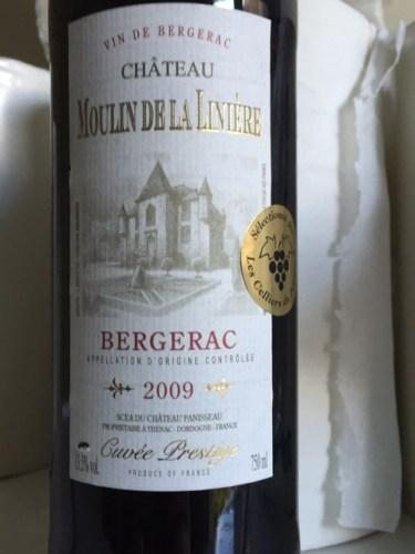 chateau moulin de la liniere bergerac cuv e prestige 2009 wine info. Black Bedroom Furniture Sets. Home Design Ideas