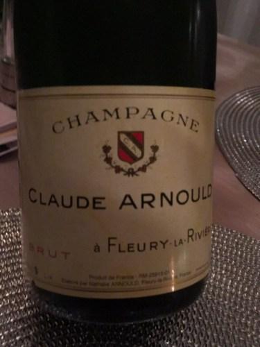 claude arnould champagne  u00c0 fleury la rivi u00e8re brut