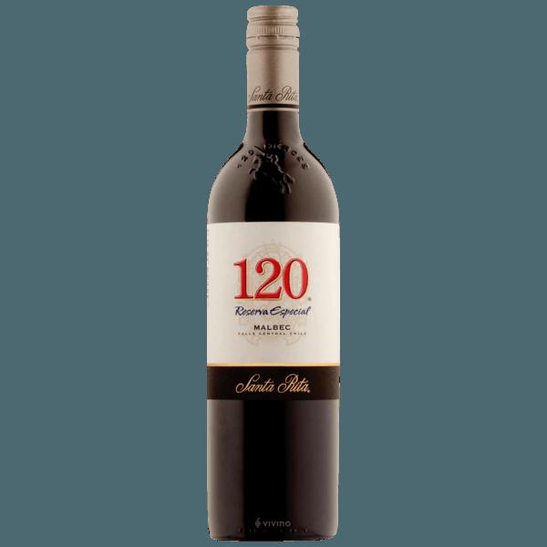 2018 Santa Rita 120 Reserva Especial Malbec   Vivino