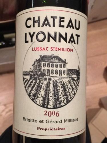 Ch teau lyonnat lussac saint milion 2006 wine info for Chateau lyonnat
