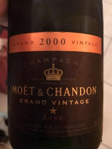 Moet & Chandon Grand Vintage 2000 meiningerde