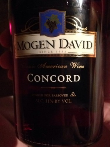 Mogen David Concord 2015 Wine Info