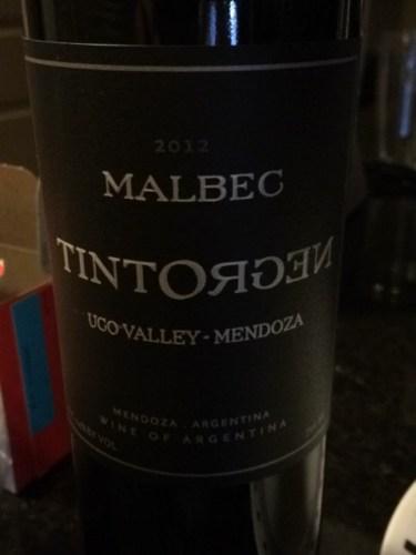 Tintonegro Uco Valley Reserve Mendoza Malbec 2012 | 375 x 500 jpeg 24kB