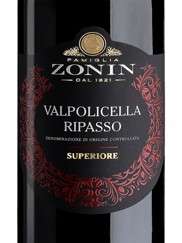 Image result for zonin valpolicella ripasso""