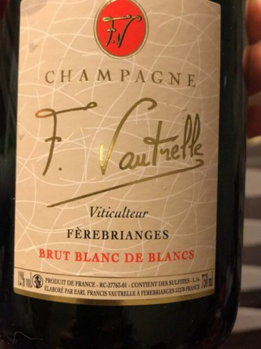 champagne f vautrelle