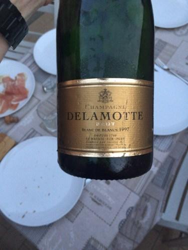 Delamotte champagne blanc de blancs brut mill sim 1997 for 1997 champagne salon