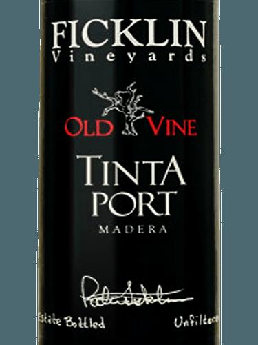 Ficklin Old Vine Tinta Port