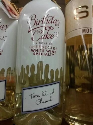 Cheesecake Birthday Cake Specialty White 2009  Wine Info