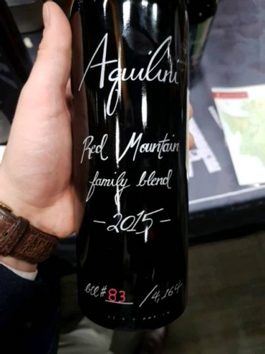 Aquilini Red Mountain Family Blend