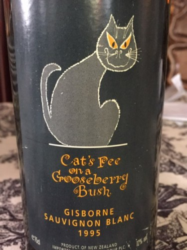 cat pee on a gooseberry bush wine