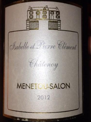 Isabelle et pierre clement menetou salon blanc 2012 wine for Menetou salon clement