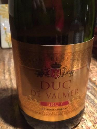 Duc de valmer brut blanc de blancs wine info for Belle jardin blanc de blancs