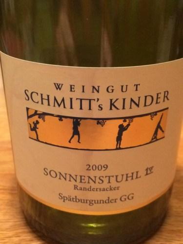 Kinder Sonnenstuhl.Schmitt S Kinder Sonnenstuhl Randersacker Spätburgunder Gg 2013