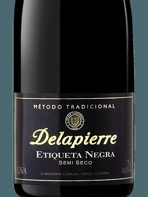 N.V. Delapierre Cava Etiqueta Negra Semi-Seco   Vivino