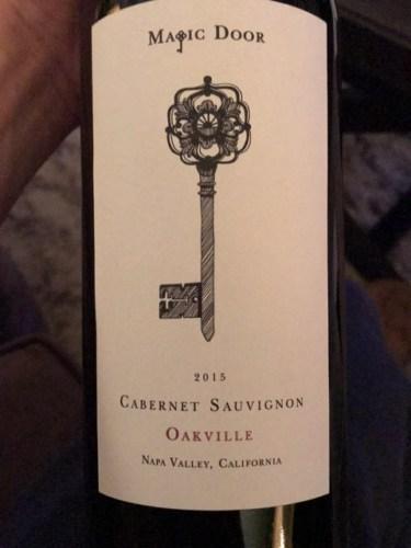 & Magic Door Oakville Cabernet Sauvignon 2015   Wine Info