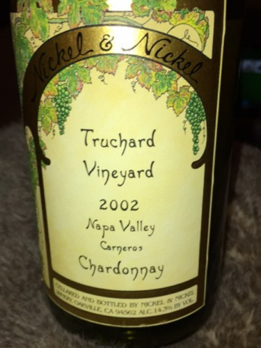 nickel nickel chardonnay truchard vineyard 2002 wine info. Black Bedroom Furniture Sets. Home Design Ideas