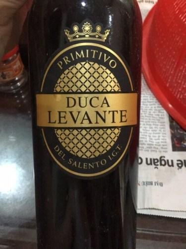 Kết quả hình ảnh cho duca levante primitivo del salento