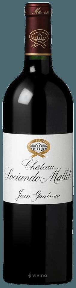2012 Château Sociando-Mallet Haut-Médoc   Vivino