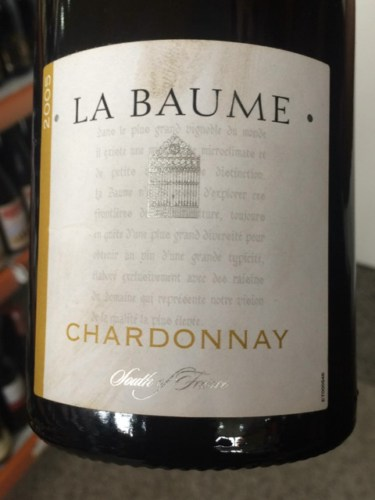 domaine de la baume chardonnay les vignes de madame 2005. Black Bedroom Furniture Sets. Home Design Ideas