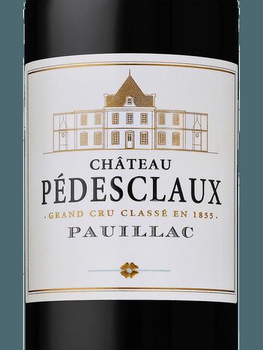 Chateau Pedesclaux Pauillac Grand Cru Classe 2012 Wine Info