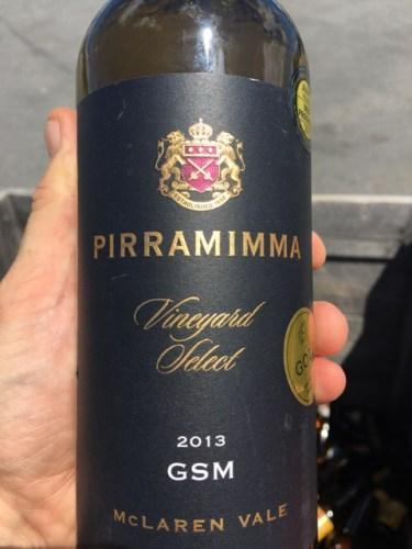 Pirramimma Vineyard Select Gsm 2013 Wine Info