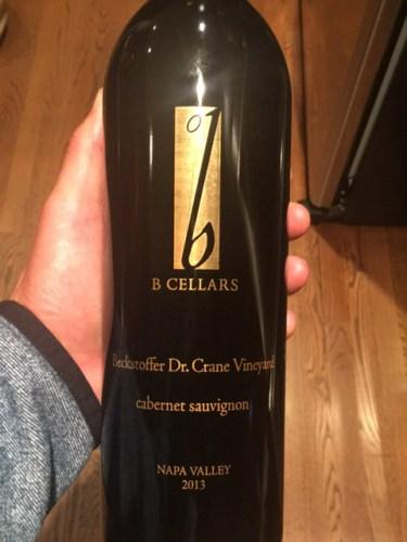 B Cellars Beckstoffer To Kalon Cabernet Sauvignon 2013  Wine Info