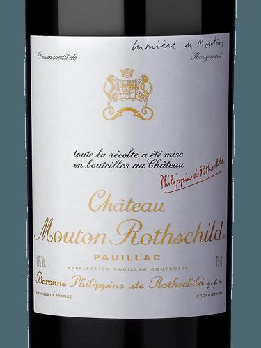 Chteau Mouton Rothschild Pauillac Premier Grand Cru Class 1982