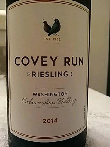 Covey Run Riesling Wine Info