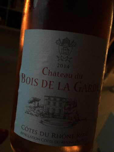 Mousset Barrot Ch u00e2teau du Bois de la Garde Rosé 2014 Wine Info # Chateau Du Bois De La Garde