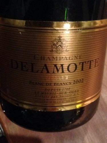 Delamotte champagne blanc de blancs brut mill sim 2003 wine info for Salon blanc de blancs le mesnil sur oger