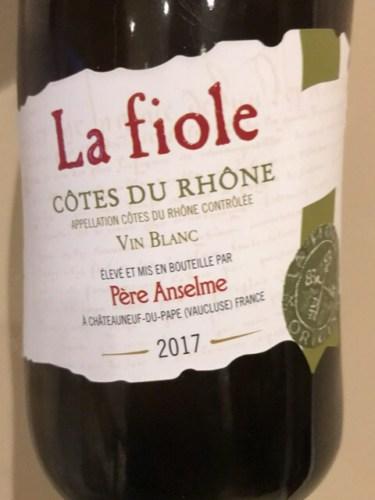 Kết quả hình ảnh cho la fiole grenache blanc clairette viognier