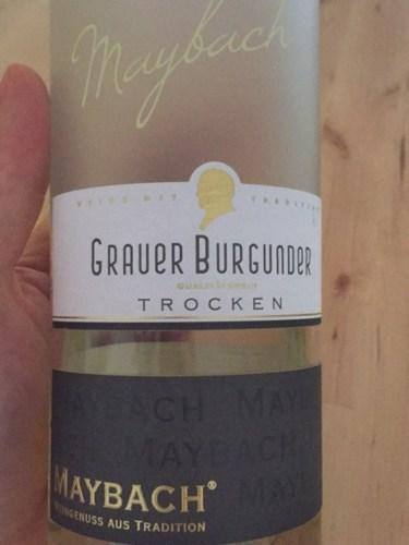 maybach grauer burgunder trocken 2015   wine info