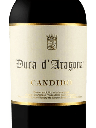 Kết quả hình ảnh cho candido DUCA D'ARAGONA SALENTO ROSSO