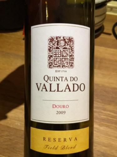 Quinta do vallado douro reserva field blend 2009 wine info - Quinta do vallado ...