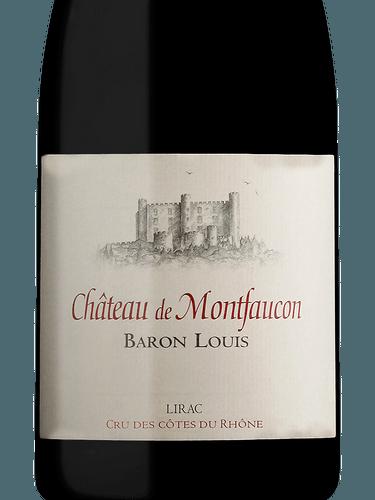 Château de Montfaucon Baron Louis Lirac Côtes du Rhône  bf2bfca3a5