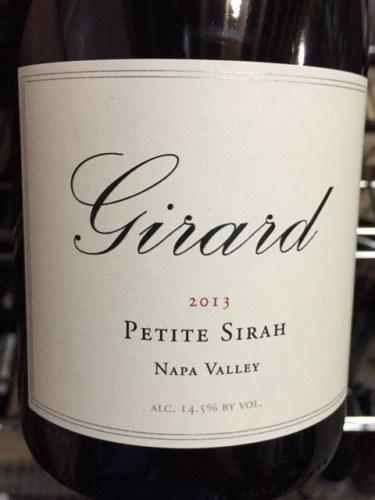 Girard Petite Sirah 2013 Wine Info