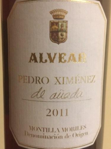 Alvear pedro xim nez de a ada 2011 wine info - Vino de pedro ximenez para cocinar ...