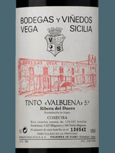 2008 Vega Sicilia Valbuena 5º Vivino