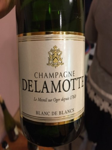 Delamotte champagne blanc de blancs brut nv wine info for Salon blanc de blancs le mesnil sur oger