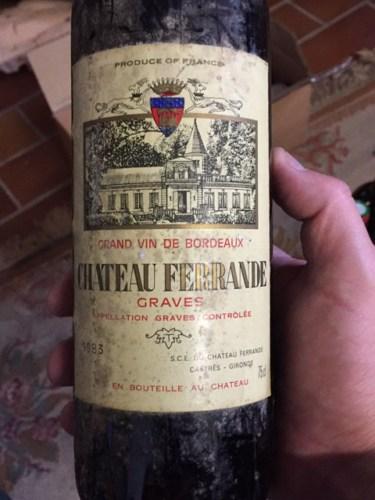 Ch teau ferrande graves 1983 wine info for Chateau ferrande