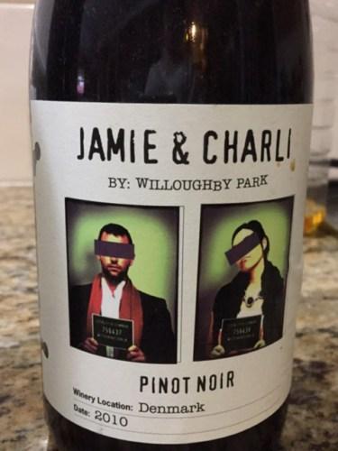 Willoughby Park Jamie Charli Pinot Noir 2011 Wine Info