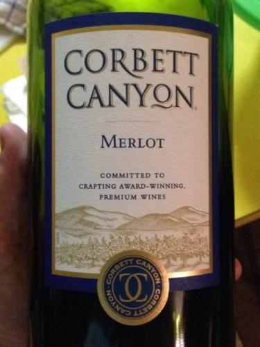 Corbett Canyon Merlot Wine Info