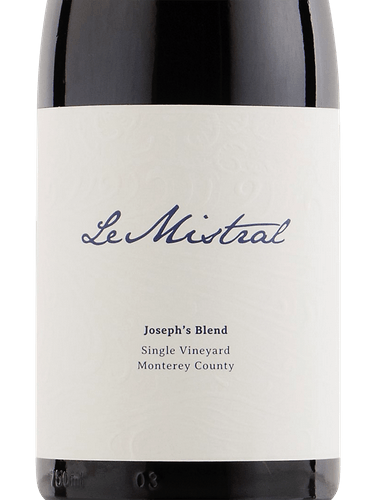 Le Mistral Single Vineyard Joseph's Blend
