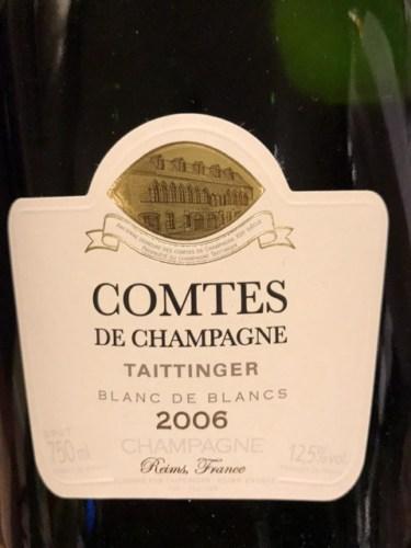 Taittinger comtes de champagne blanc de blancs 2006 wine for Belle jardin blanc de blancs