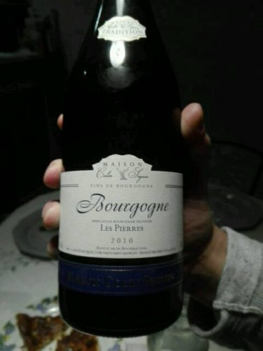 Delightful Maison Colin Seguin Bourgogne Les Pierres 2010 | Wine Info