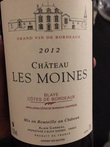 Chteau Les Moines Blaye