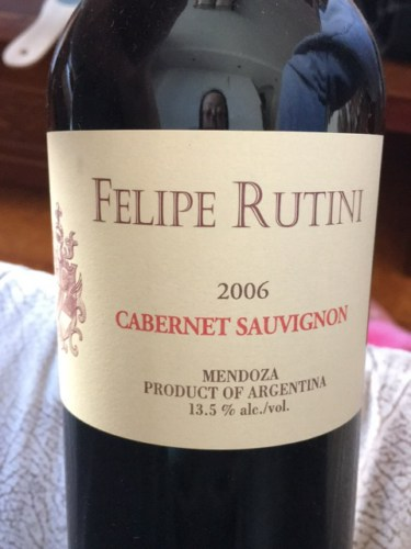 Rutini Felipe Rutini Cabernet Sauvignon 2011